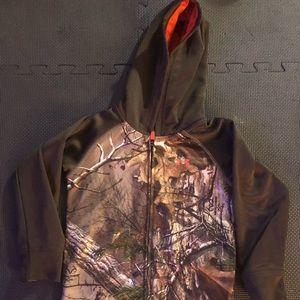 Under Armour Realtree Hood Sweatshirt/jacket 4T